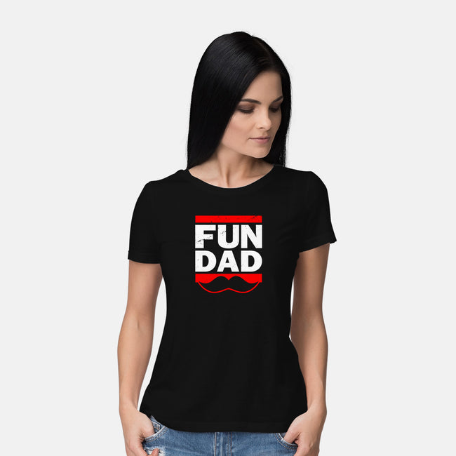 Fun Dad-womens basic tee-Boggs Nicolas