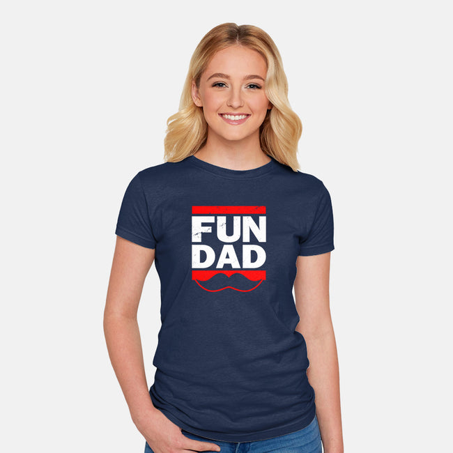 Fun Dad-womens fitted tee-Boggs Nicolas