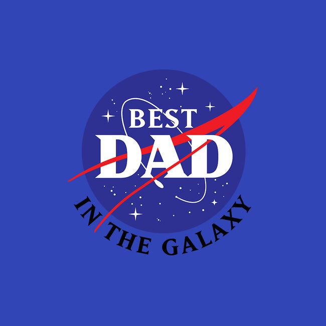 Best Dad in the Galaxy-womens fitted tee-cre8tvt