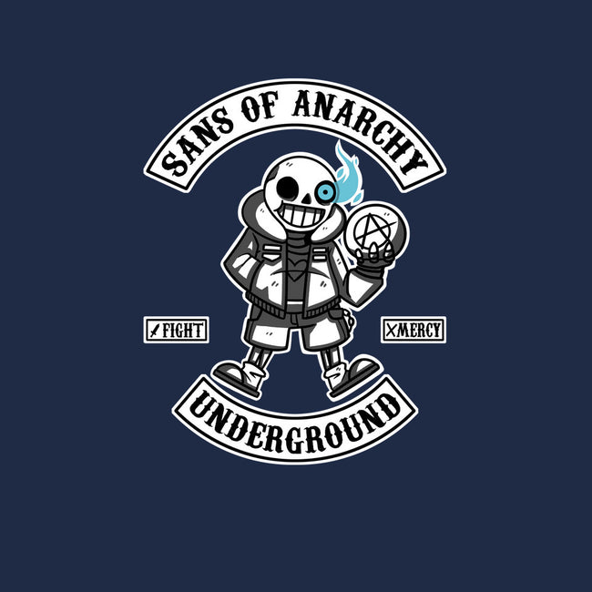 Sans of Anarchy-womens fitted tee-theteenosaur