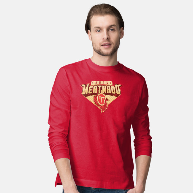 Meatnado-mens long sleeved tee-DCLawrence