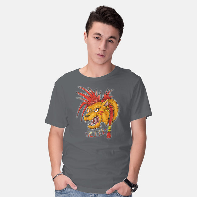 Red Tattoo-mens basic tee-Firebrander