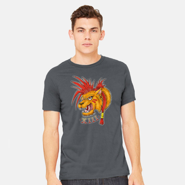 Red Tattoo-mens heavyweight tee-Firebrander