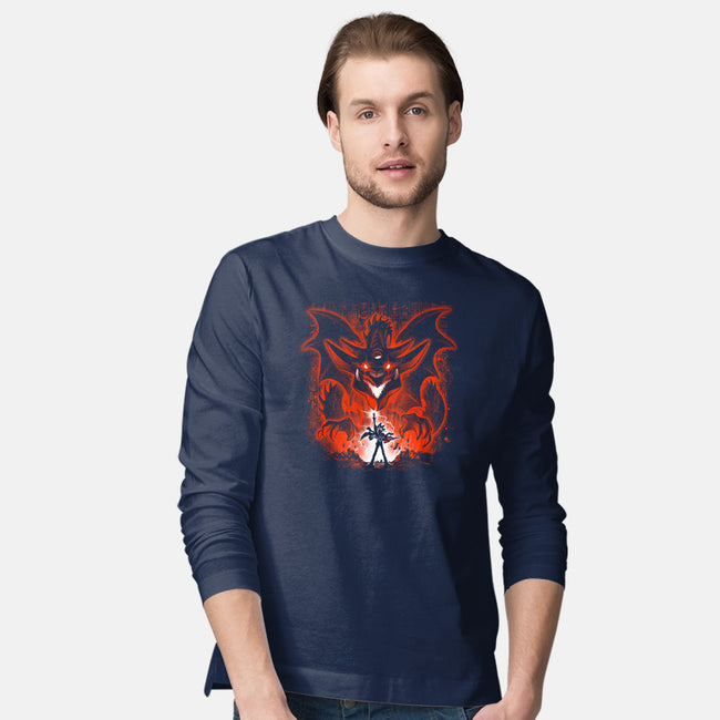 Sky Dragon-mens long sleeved tee-alemaglia