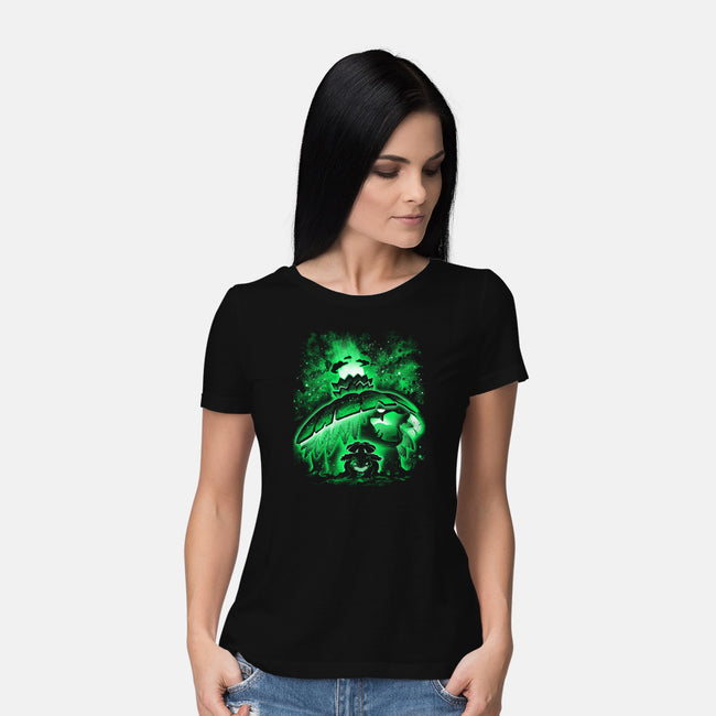 Green Gigamax-womens basic tee-alemaglia