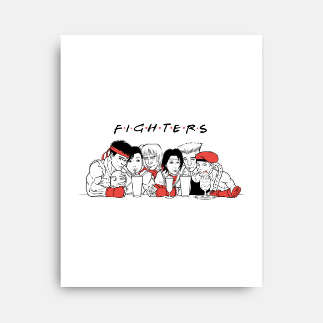 Fighters-none stretched canvas-spike00