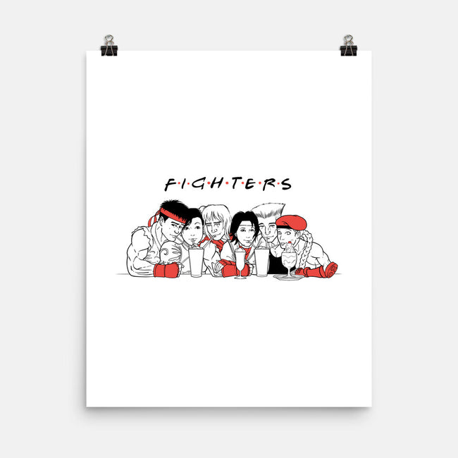 Fighters-none matte poster-spike00