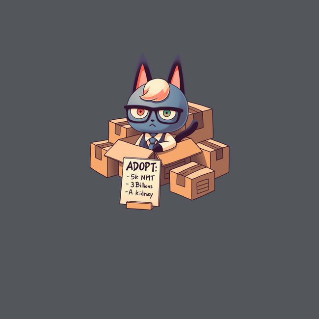 Cat in Boxes-mens basic tee-Geekydog
