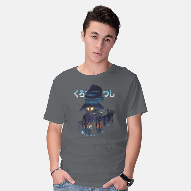 The Black Mage-mens basic tee-dandingeroz