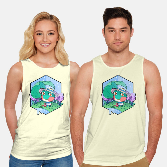 Water Lily-unisex basic tank-identitypollution