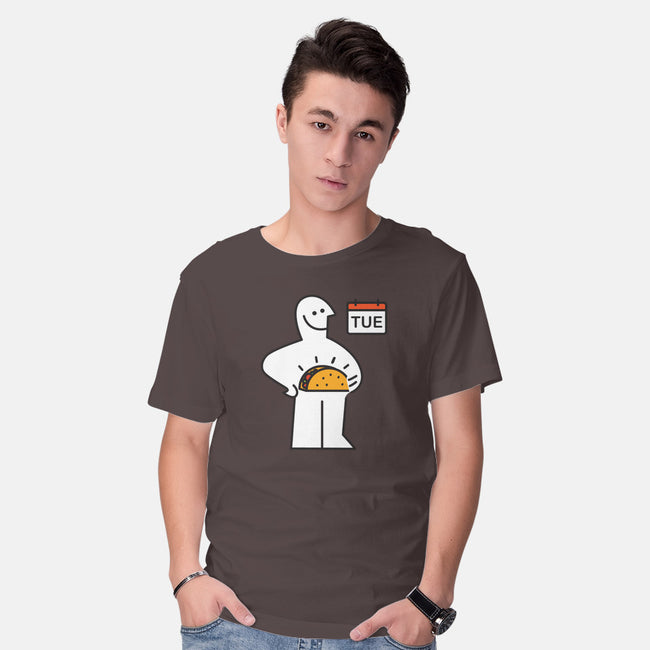 Taco Tuesday-mens basic tee-Wenceslao A Romero
