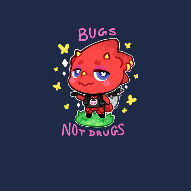 Bugs Not Drugs-mens heavyweight tee-identitypollution