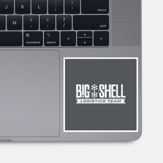 Big Shell Team-none glossy sticker-DCLawrence