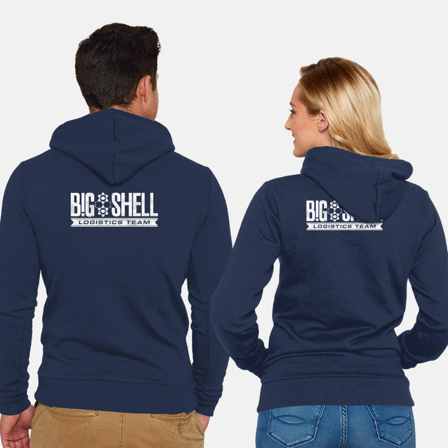 Big Shell Team-unisex zip-up sweatshirt-DCLawrence