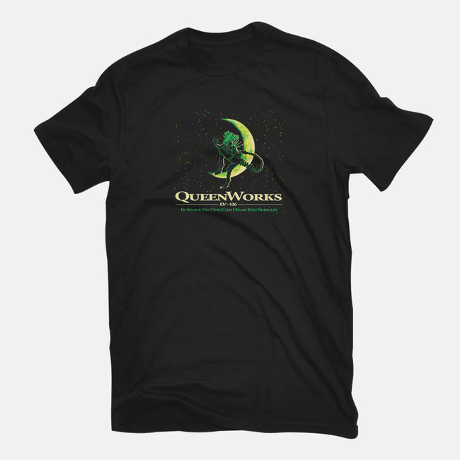 Queenworks-womens fitted tee-dalethesk8er