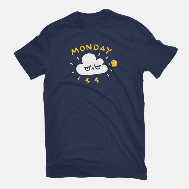 Another Monday-mens basic tee-Wenceslao A Romero