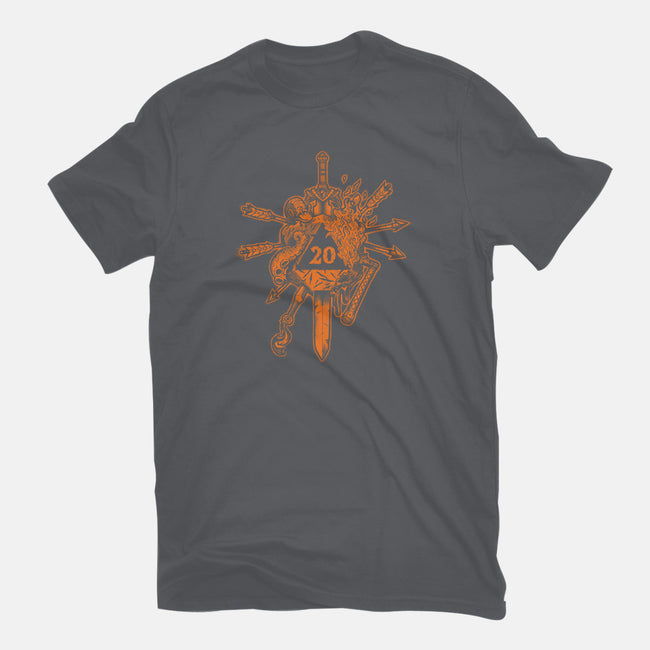 Orange Roll-mens basic tee-DCLawrence
