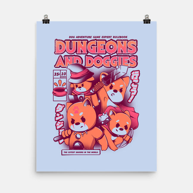 Dungeons and Doggies-none matte poster-yumie