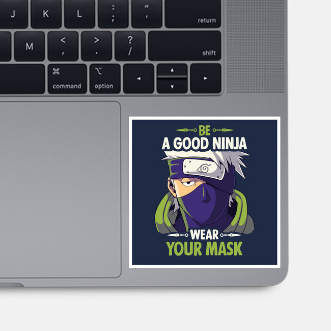Good Ninja-none glossy sticker-Geekydog