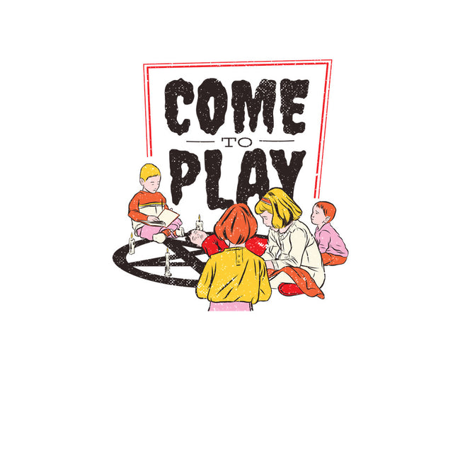 Come to Play-none stretched canvas-T33s4U