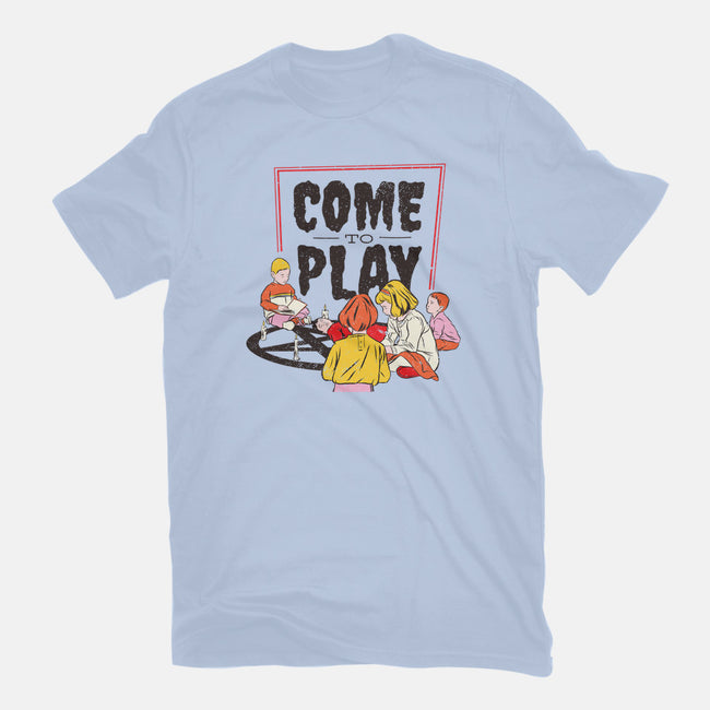 Come to Play-youth basic tee-T33s4U