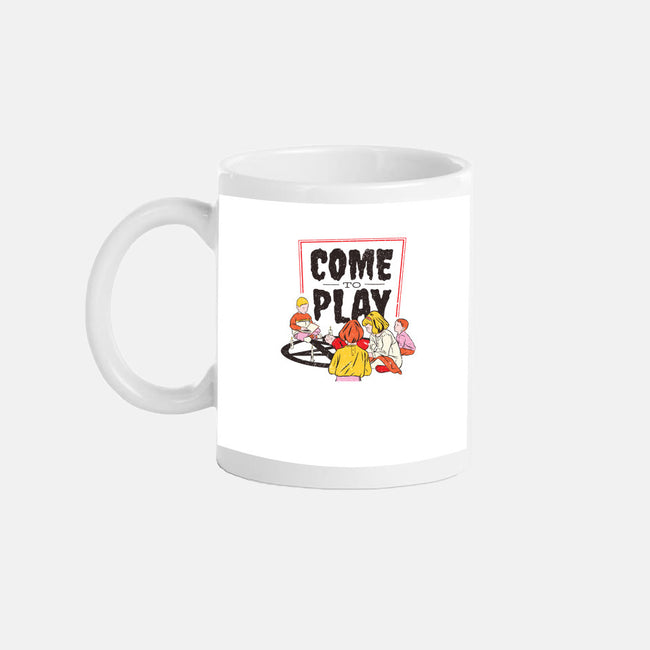 Come to Play-none glossy mug-T33s4U