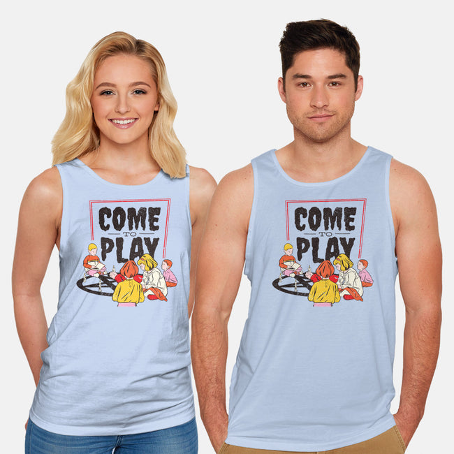 Come to Play-unisex basic tank-T33s4U