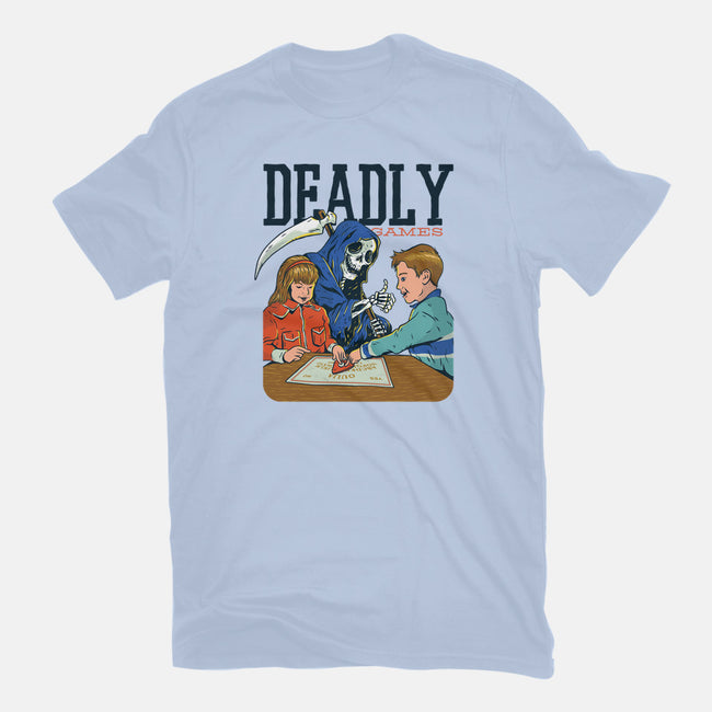Deadly Games-youth basic tee-T33s4U