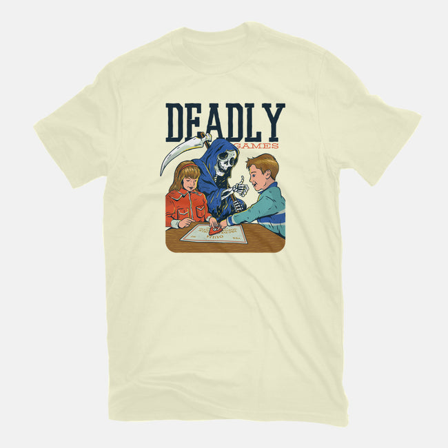 Deadly Games-mens long sleeved tee-T33s4U
