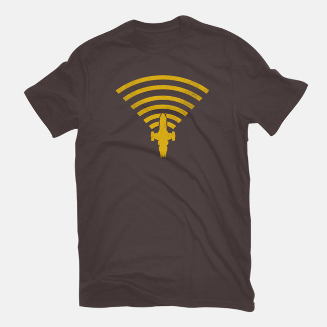 Can't Stop The Signal-womens fitted tee-kharmazero