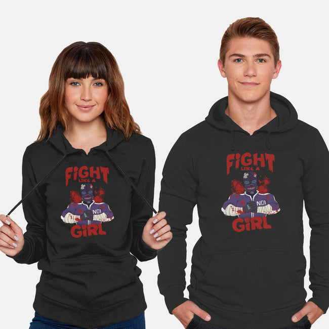 Fight Like Magic-unisex pullover sweatshirt-Odin Campoy