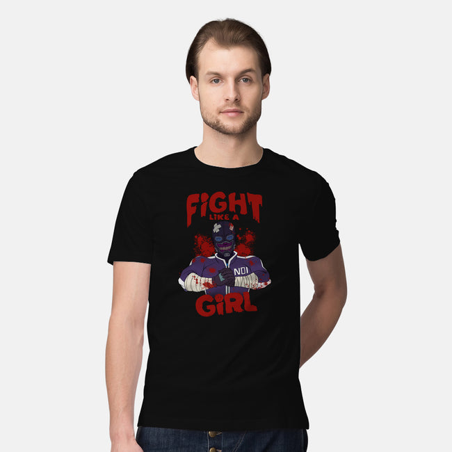 Fight Like Magic-mens premium tee-Odin Campoy