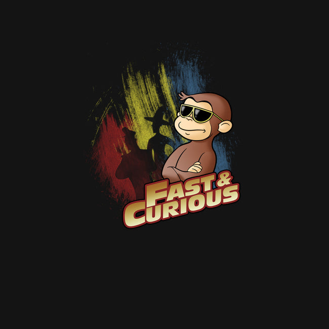 Fast and Curious-womens fitted tee-Skullpy