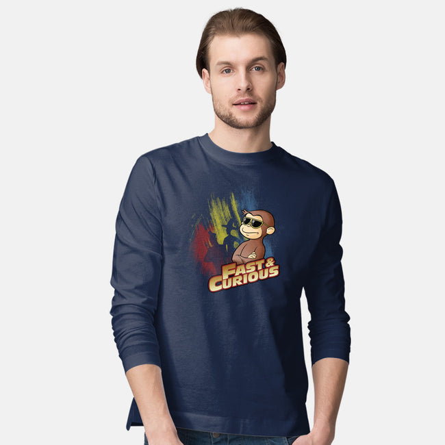 Fast and Curious-mens long sleeved tee-Skullpy