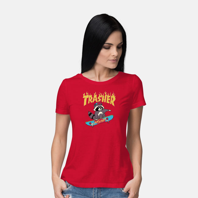 Trasher-womens basic tee-vp021