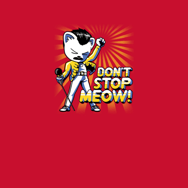 Don't Stop Meow-mens long sleeved tee-estudiofitas