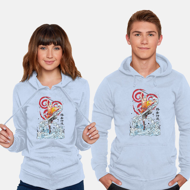 The Power of The Air Nomads-unisex pullover sweatshirt-DrMonekers
