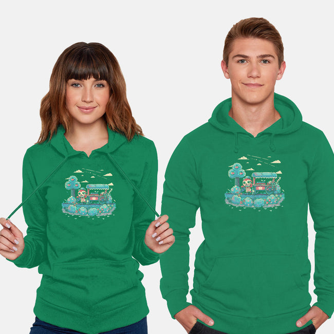 Caring For Nature-unisex pullover sweatshirt-TechraNova