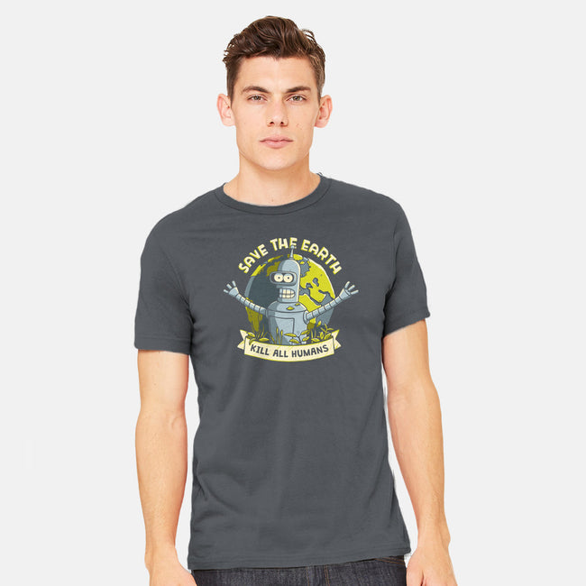 Bender Earth-mens heavyweight tee-ducfrench