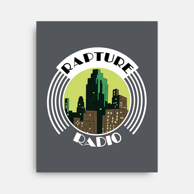 Rapture Radio-none stretched canvas-Zody