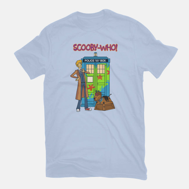 Scooby Who-mens heavyweight tee-MoonlitEnvy