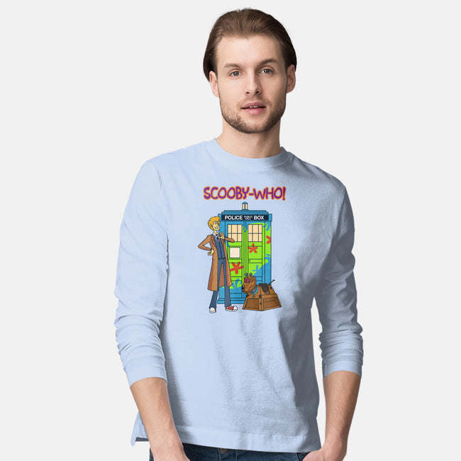 Scooby Who-mens long sleeved tee-MoonlitEnvy