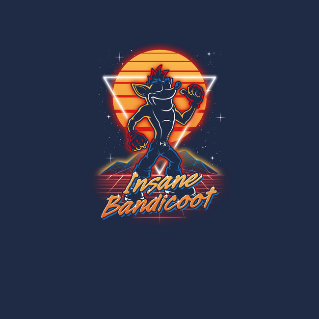 Insane Bandicoot-youth basic tee-Olipop