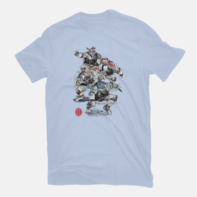 Turtle Squad-mens basic tee-DrMonekers