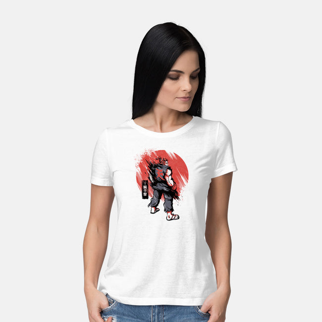 Master of The Fist-womens basic tee-yumie