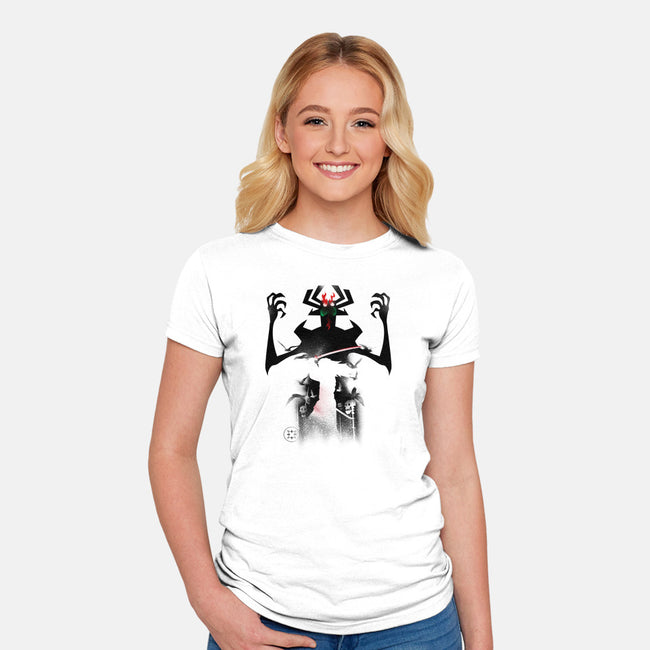 Skull Valley-womens fitted tee-RamenBoy