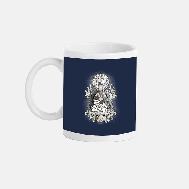 Glory to Mankind-none glossy mug-Fearcheck