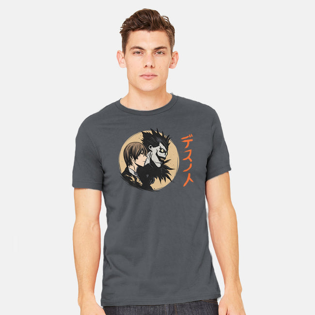 Light and Dark-mens heavyweight tee-fanfabio