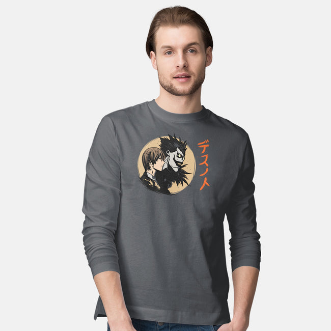 Light and Dark-mens long sleeved tee-fanfabio