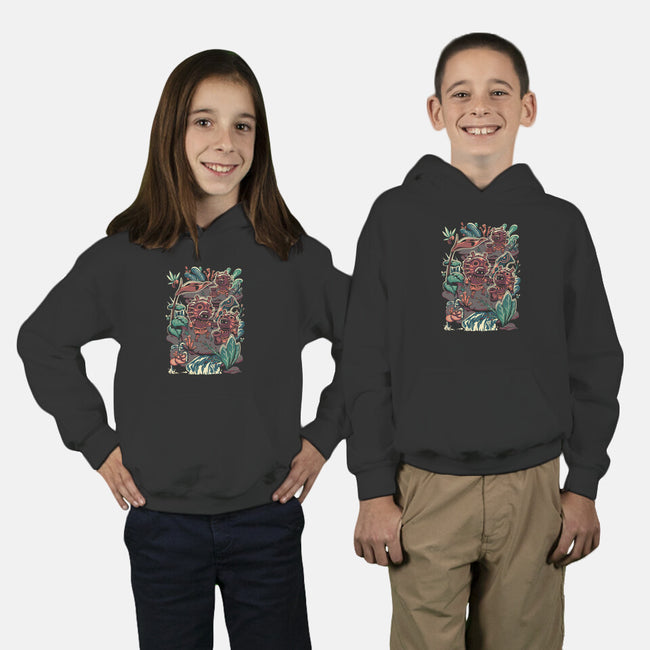 Mischievous Folks-youth pullover sweatshirt-toyfu